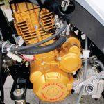 เครื่องยนต์ซุปเปอร์คูลหม้อน้ำสีทอง200ซีซี ของ รถสามล้อซูโมต้ารุ่นE-MAX GOLD2&E-CAB GOLD2