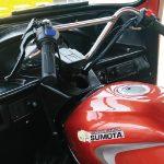 คอนโซลหน้าบุ ABS ทั้งชิ้น จนถึงพื้นรถ ของ รถสามล้อซูโมต้ารุ่นE-MAX GOLD2&E-CAB GOLD2